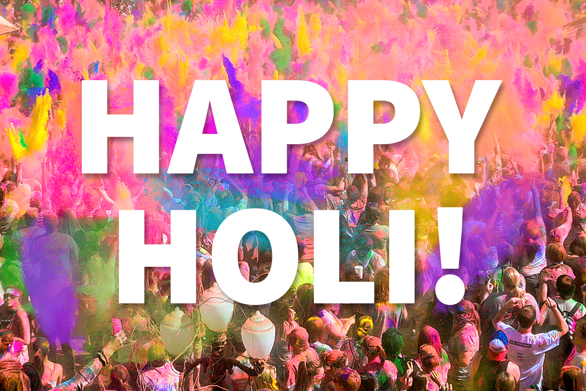 Happy Holi from Jaya Travel& Tours!
