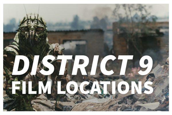 District 9 film locations