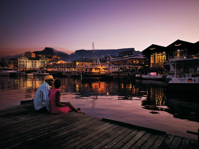 The V & A Waterfront in Cape Town, South Africa