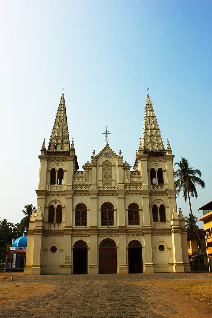 Exterior of Santa Cruz Cathedral