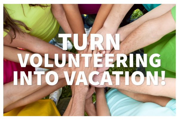 Voluntourism is a great way to give back while on vacation!