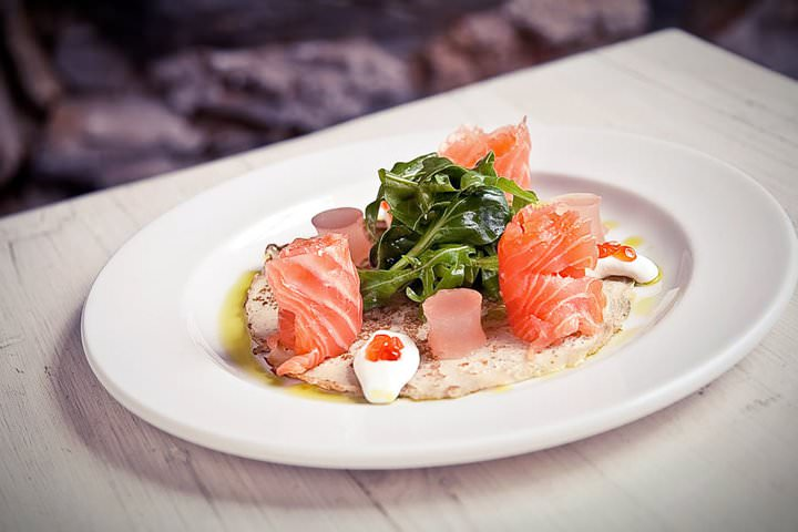 A salmon dish from Cape Town Restaurant Savoy Cabbage