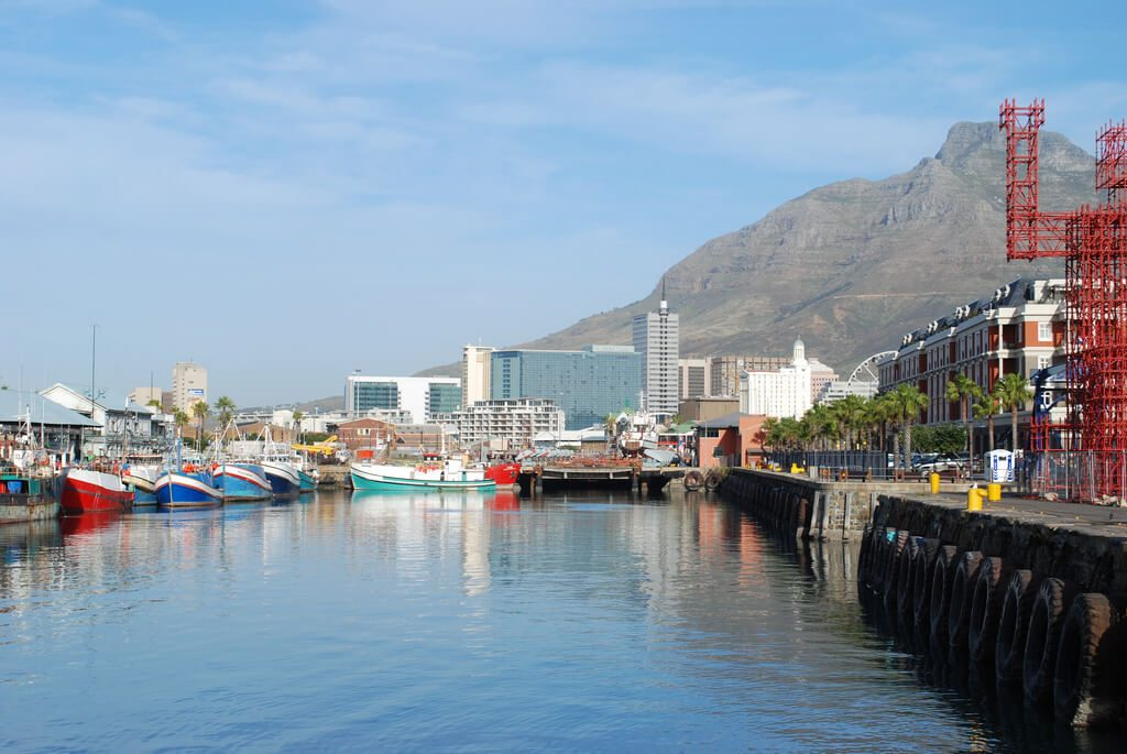 """The V&A Waterfront in Cape Town, South Africa where scenes from """"Blood Diamond"""" were filmed. Photo: George Groutas/Flickr."""
