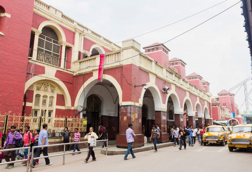 One of the most important Lion film locations: Saroo's journey ends at Howrah Junction in Kolkata.