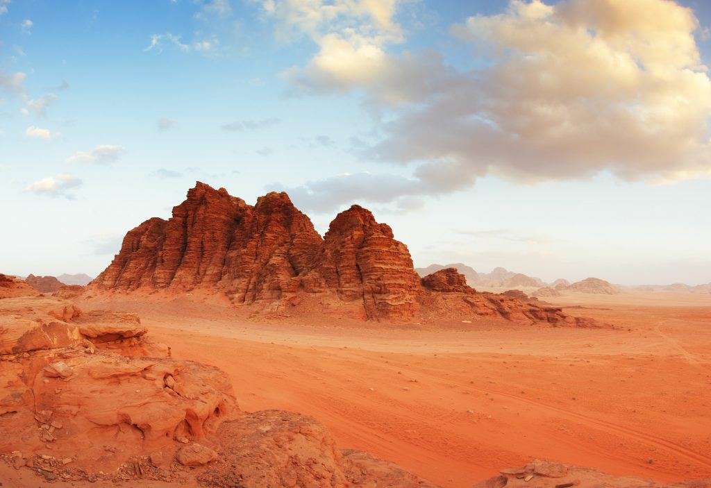 Wadi Rum - Jordan - Film location for the planet Jedha in Rogue One