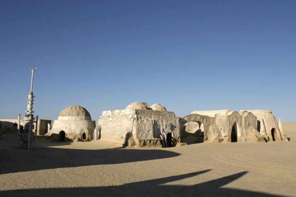 Chott el Jeri - Filming location for Luke Skywalker's homestead in Tunisia