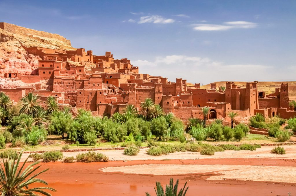 Aït Ben Haddou, Morocco, where Maximus's gladiator training and first fight were filmed. Photo: iStock