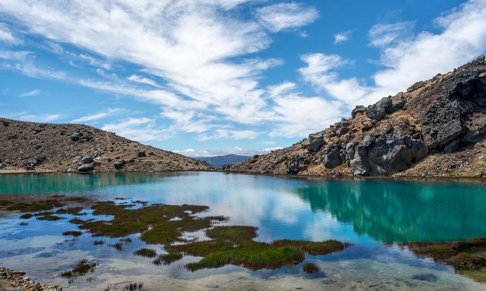 Lake at Tangarioro Alpine Crossing