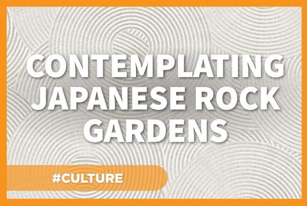 Contemplating Japanese Rock Gardens