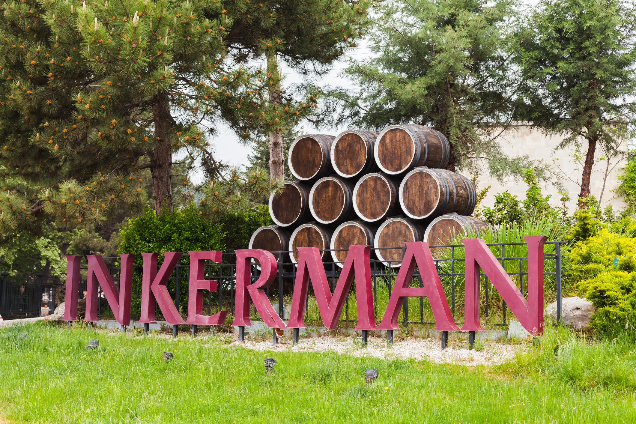 Outside of Inkerman Winery