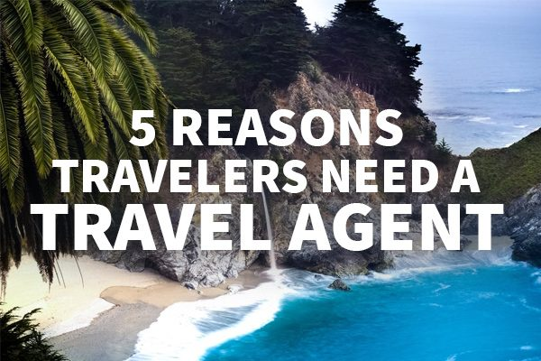 Travel agents can save you hundreds of dollars.