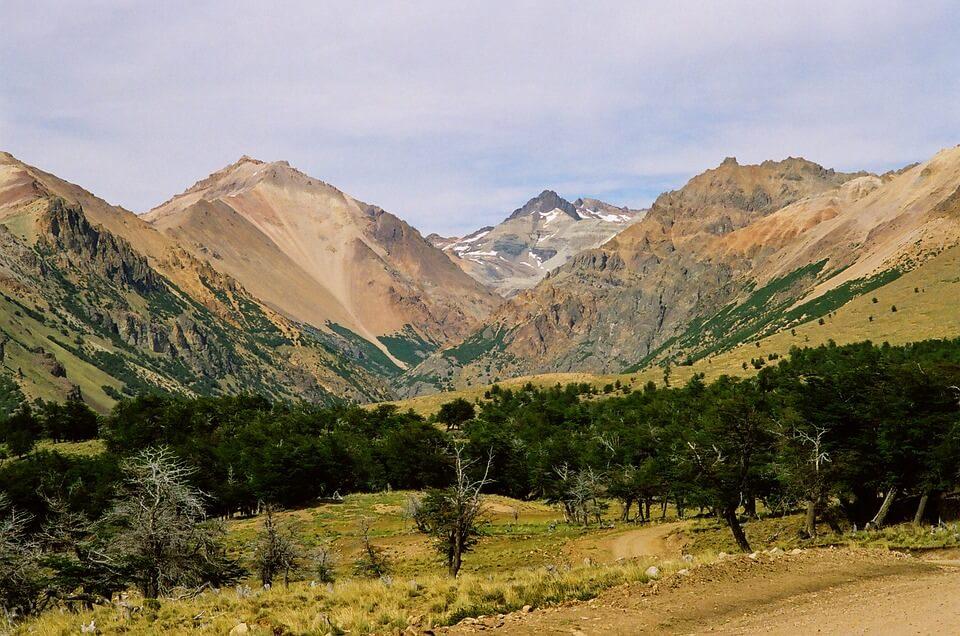 Patagonian landscape.