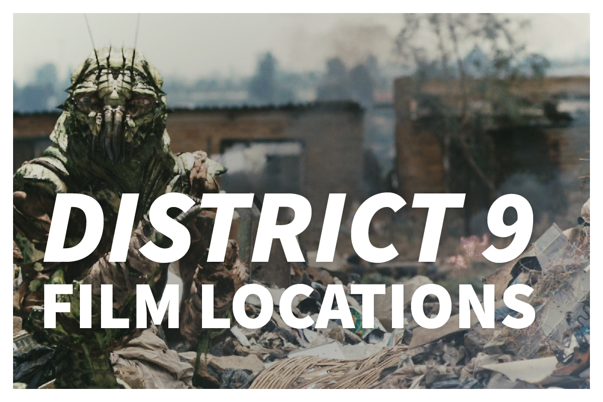 District 9 film locations
