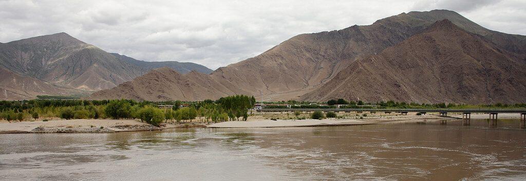 The Brahmaputra River