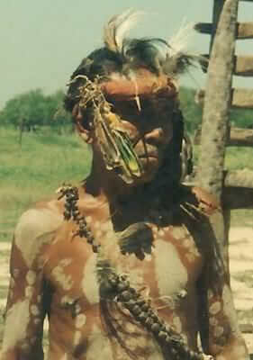 A Chamacoco man from Paraguay