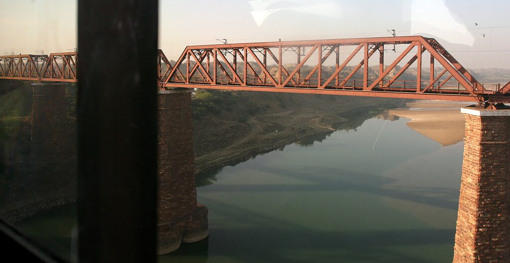 View of the Chambal River