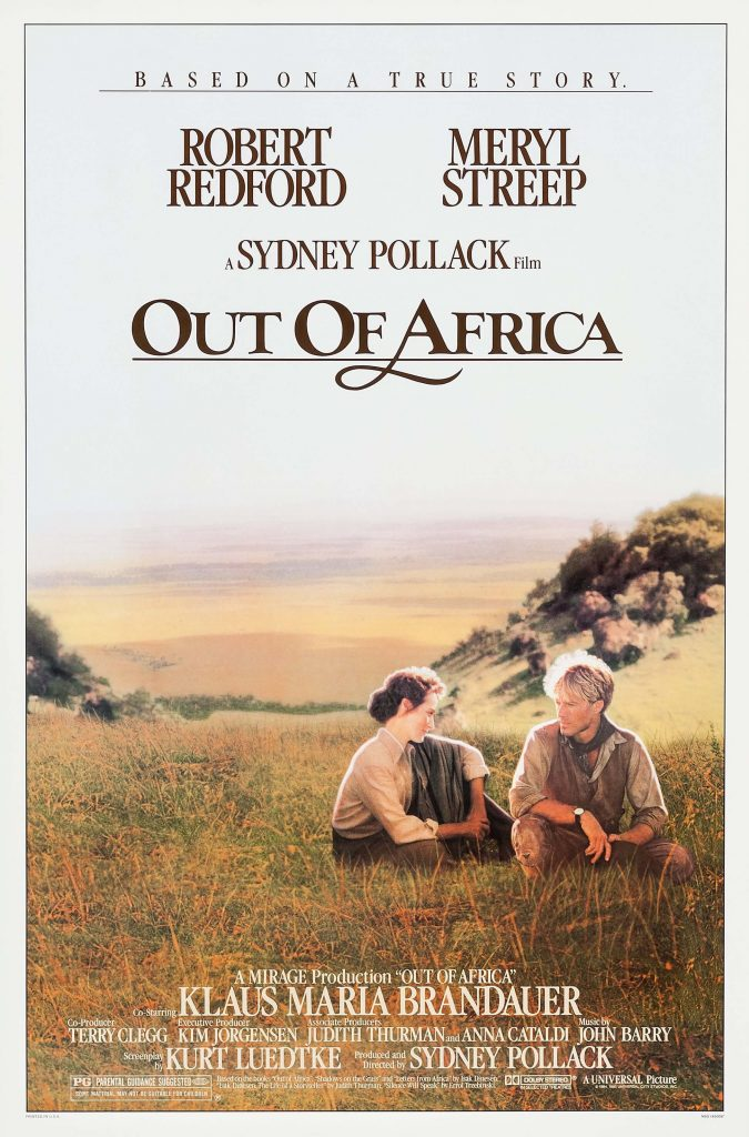 Out of Africa Film Poster