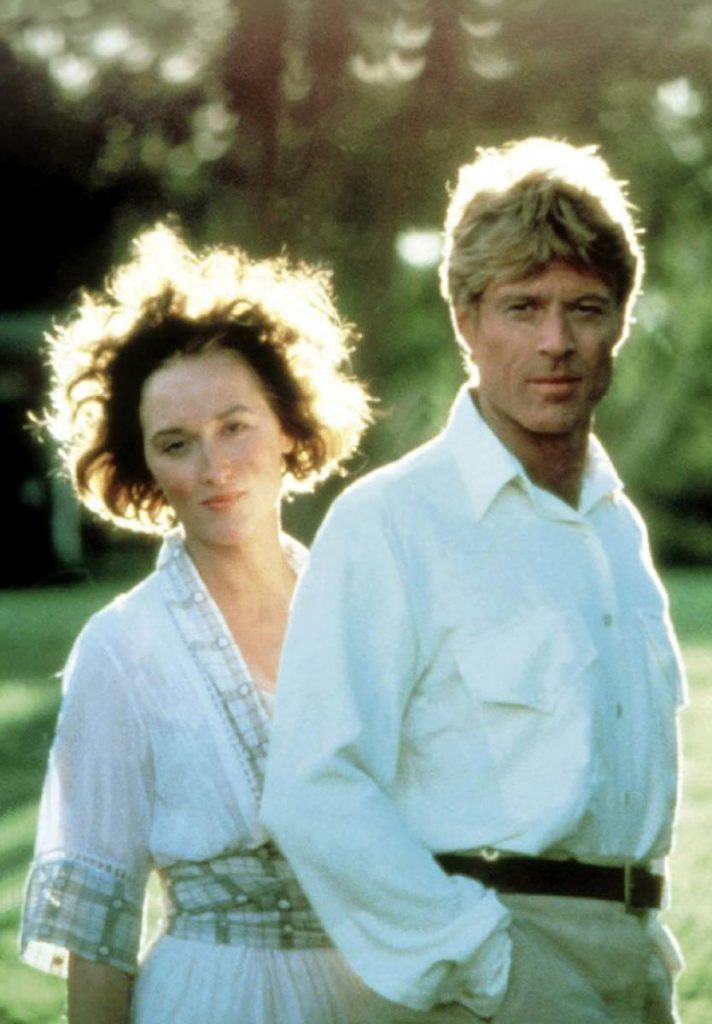 "Meryl Streep and Robert Redford in ""Out of Africa"""