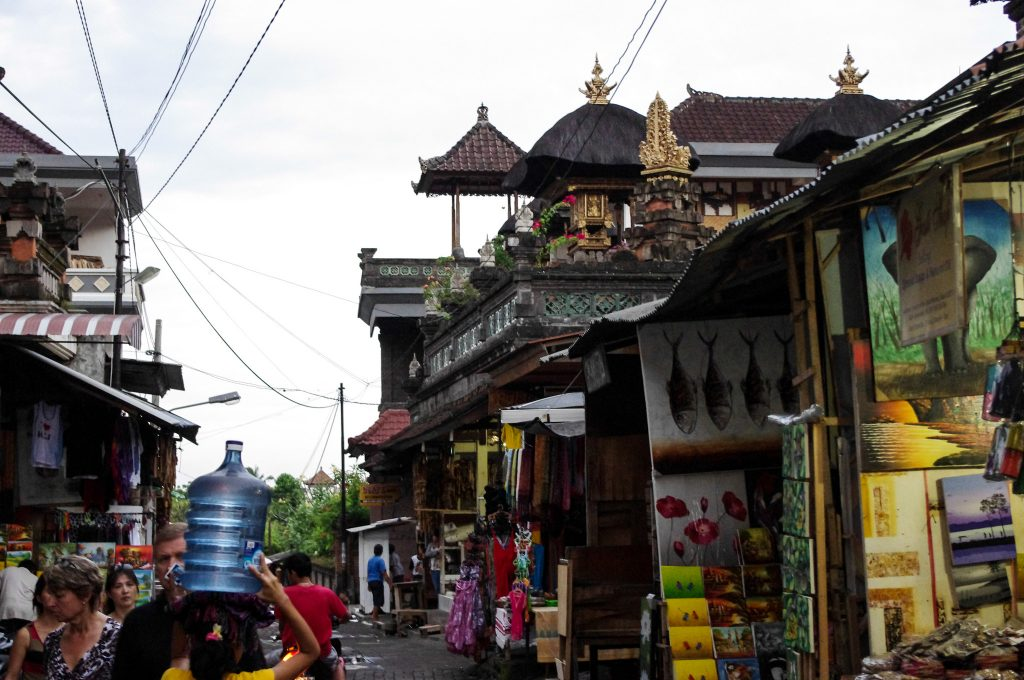 Ubud Art Market as shown in Eat, Pray, Love.