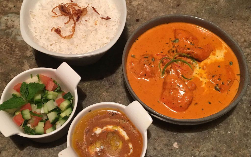 Indian dishes from one of the best Indian Cape Town restaurants