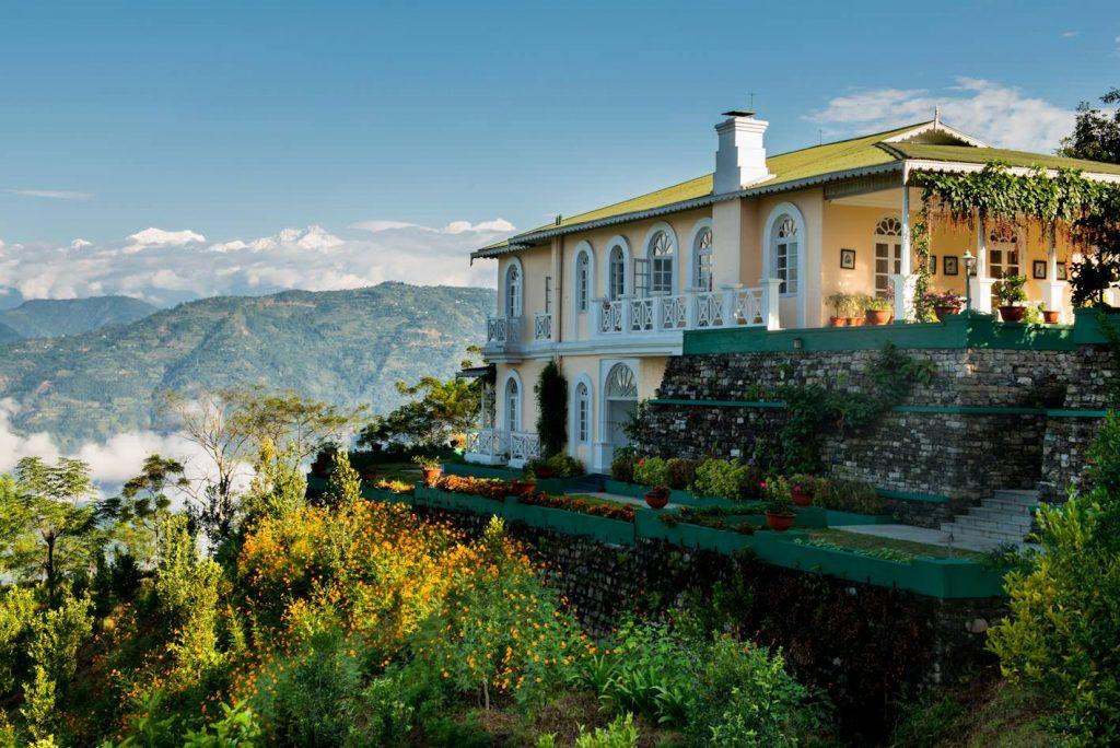 The Glenburn Tea Estate is nestled into the Himalayas, high above Darjeeling. Photo: Glenburn Tea Estate Facebook.