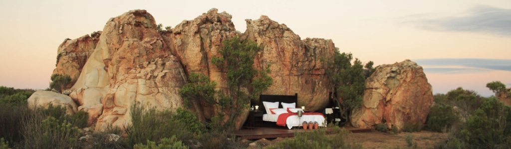 Kagga Kamma open air suite is one of the most unique boutique hotels