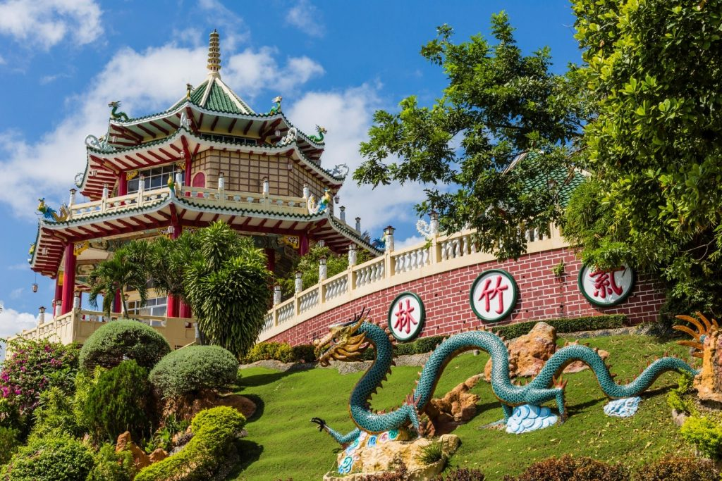 The Cebu Taoist Temple is a stunning example of traditional Chinese architecture. Photo: iStock.