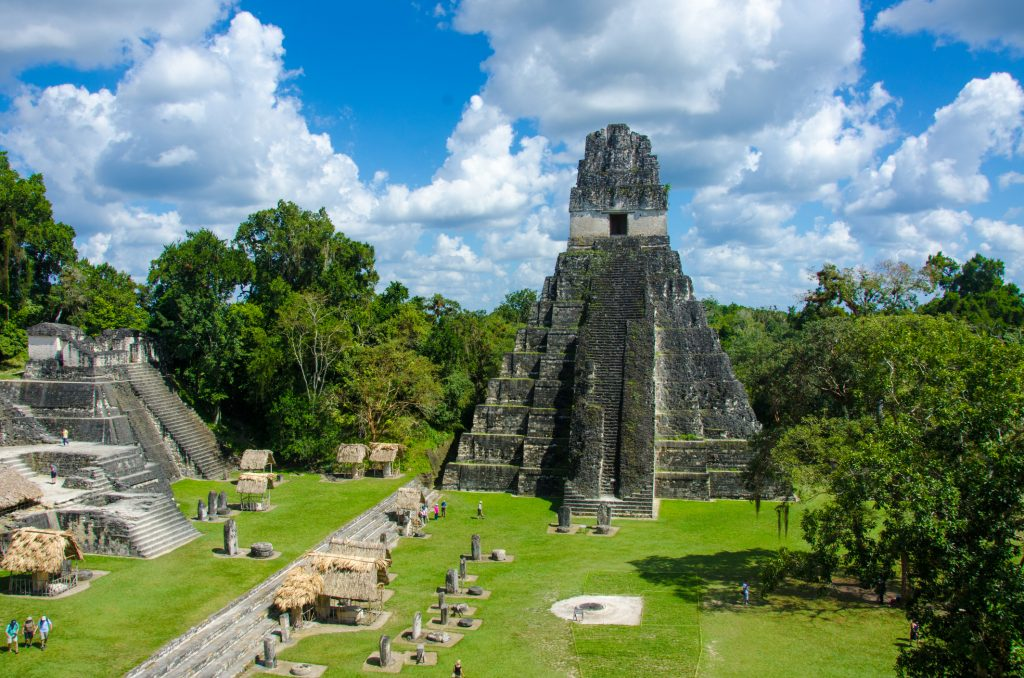The Mayan ruins of Tikal became the Drax Industries' headquarters in Moonraker. Photo: iStock.