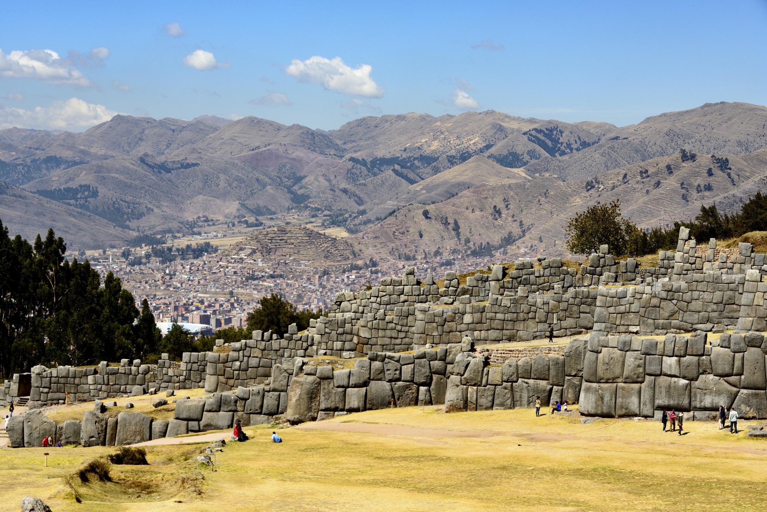 Sacsayhuaman ruins-Inti Raymi Festival