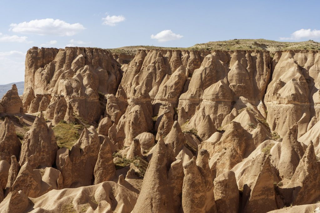 Fairy chimneys in Pigeon Valley, Turkey